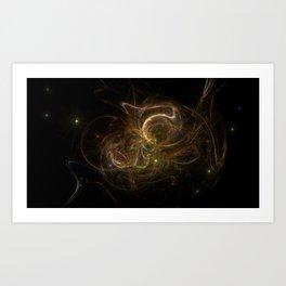 Faerie Galaxy Art Print