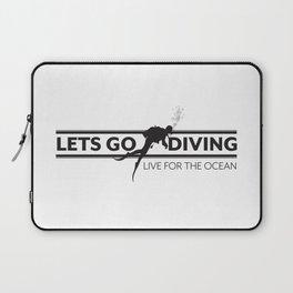 Lets Go Diving Laptop Sleeve