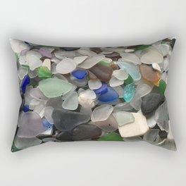 Sea Glass Assortment 1 Rectangular Pillow