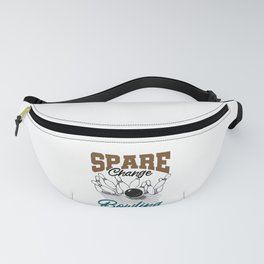 Funny Bowler Gift Idea Spare Change Bowling Team Fanny Pack