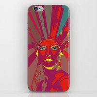 medusa iPhone & iPod Skins featuring MEDUSA by Julia Lillard Art