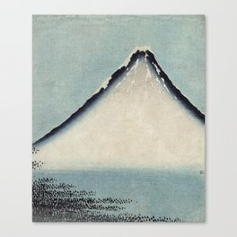 Hokusai, the blue fuji- hokusai,manga,japan,fuji, blue fuji,Shinto Canvas Print