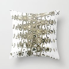 Ethereal Wave Throw Pillow