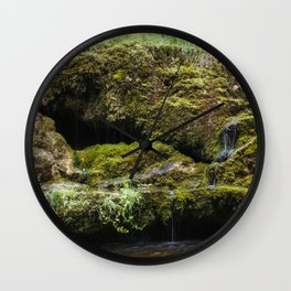The Staburags cliff of Rauna Wall Clock