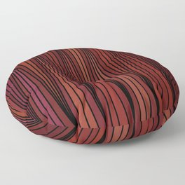 Abstract Artwork 4 - doodling style Floor Pillow