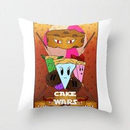 Cake Wars Throw Pillow
