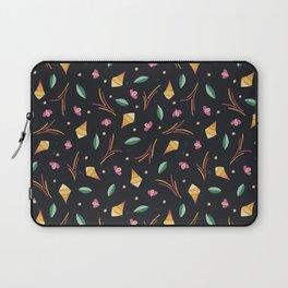 Vibrant Folk Art Floral Pattern Laptop Sleeve
