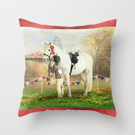 First Prize Throw Pillow