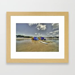 Beach Rovers  Framed Art Print