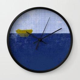 Sea vs Gravity  Wall Clock
