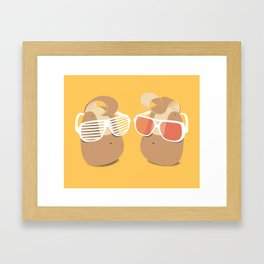 Cool Potatoes Framed Art Print
