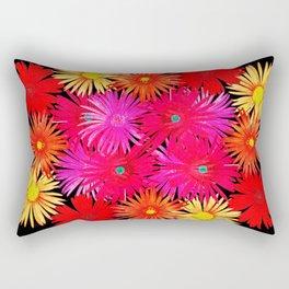 Bouquet on display Rectangular Pillow
