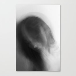 Rapture in Black & White #8 Canvas Print