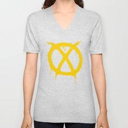 X for Excelsior Unisex V-Neck