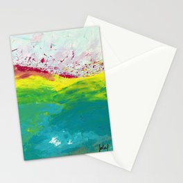 Le mont mystérieux / Mysterious Mountain Stationery Cards
