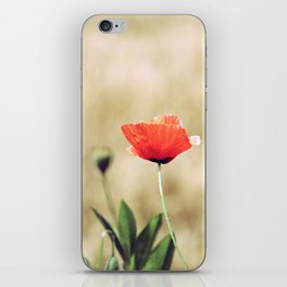 Vintage Summer - Poppy iPhone Skin
