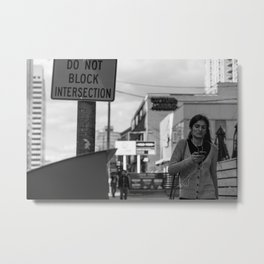 North York street photography Metal Print