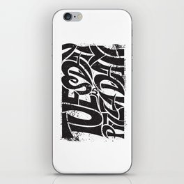 Tuesday is Pizza Day iPhone Skin