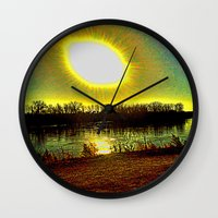 madonna Wall Clocks featuring The Madonna  by Rachel Ernst