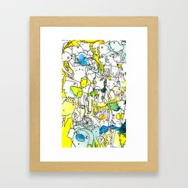 Character Cohesion Framed Art Print