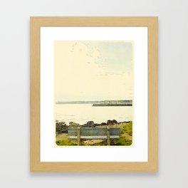 Kennebunkport Coast Framed Art Print