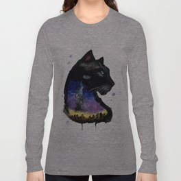 Galaxy Panther Long Sleeve T-shirt