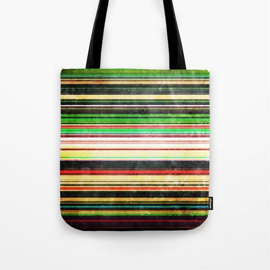Vintage Stripes Tote Bag