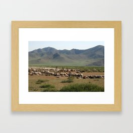 FLOCKS Framed Art Print