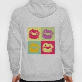 Pop Art Kisses Hoody