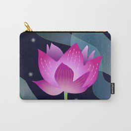 Star Lotus Carry-All Pouch