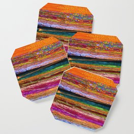 Indian Colors Coaster