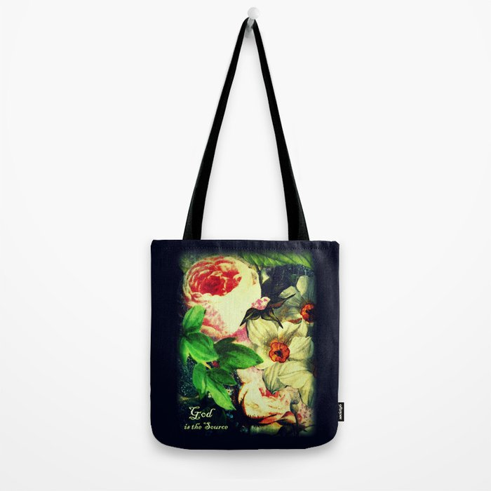 God is the Source Tote Bag