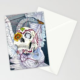 The Owl and the Swan Stationery Cards