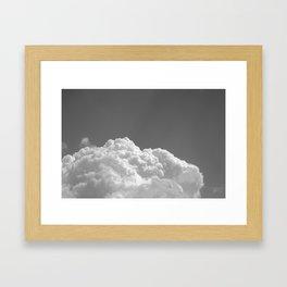 Air Framed Art Print