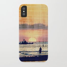 and The world was quiet .... iPhone Case