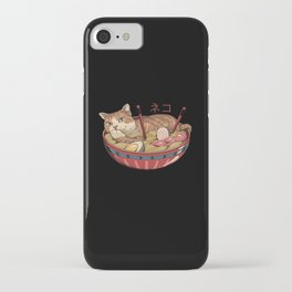 Neko Ramen v2 iPhone Case