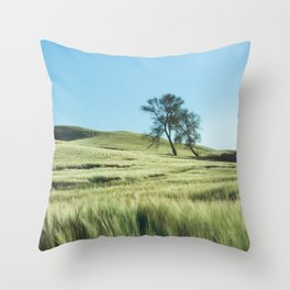 Lone Tree Photography Print Throw Pillow