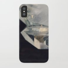 Crystal and Clear iPhone X Slim Case
