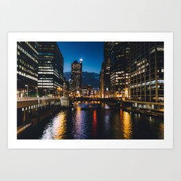 Chicago - Mecca of the Midwest V Art Print