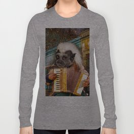 Please Tip the Tamarin Long Sleeve T-shirt