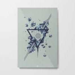 DARK MATTER • V01 Metal Print