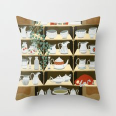 China cabinet Throw Pillow