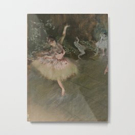 Edgar Degas - The Star Metal Print