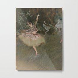 Edgar Degas - The Star Metal Print