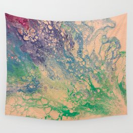 Number 001 - Coral Wall Tapestry