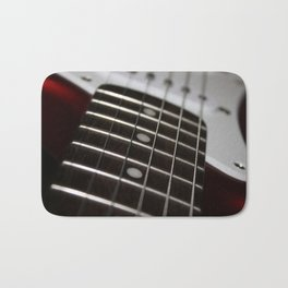 Red Stratocaster Bath Mat