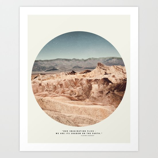 Death Valley Imaginaries Art Print