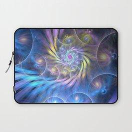 fractal: spiralling soul Laptop Sleeve