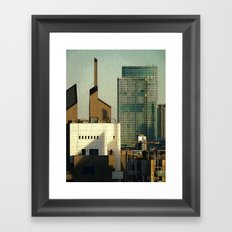 Milano City Framed Art Print