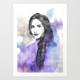 Lizzie II Art Print